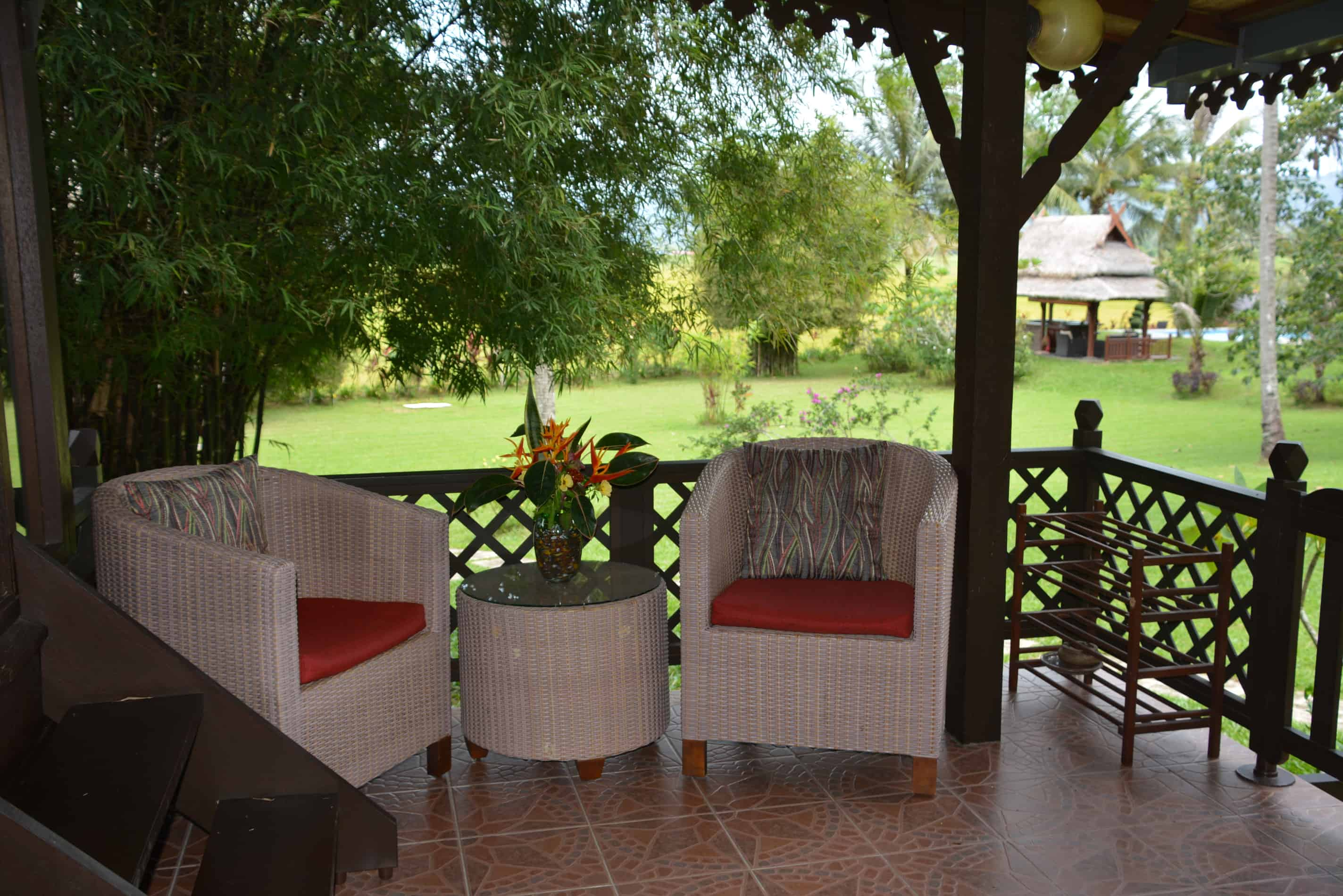 Farmers House - Veranda and view