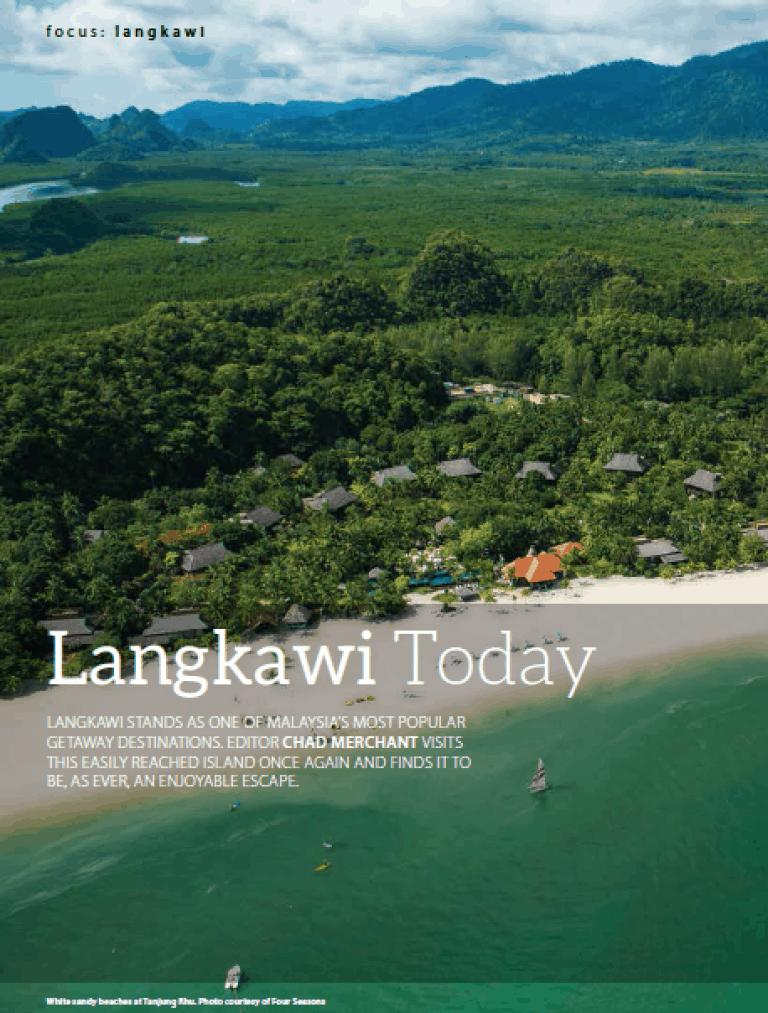 Langkawi today